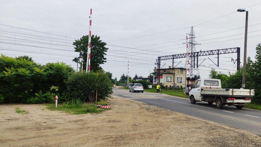 Zamknięty przejazd na ul. Raszkowskiej